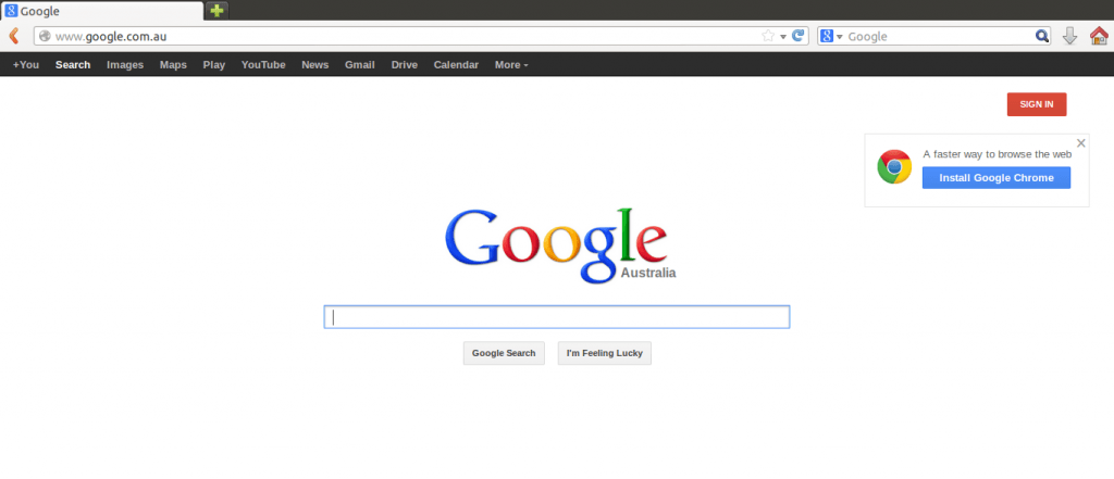 google home page1 1024x441 How to share docs online, the easiest instructions ever!