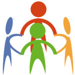communit in a circle