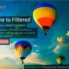 filtered balloon image