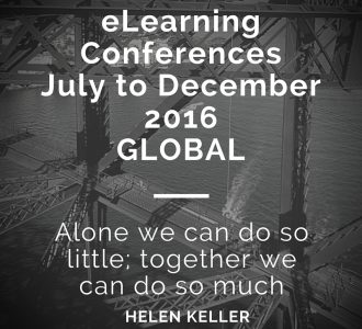 eLearning Conference Listing July to December 2016